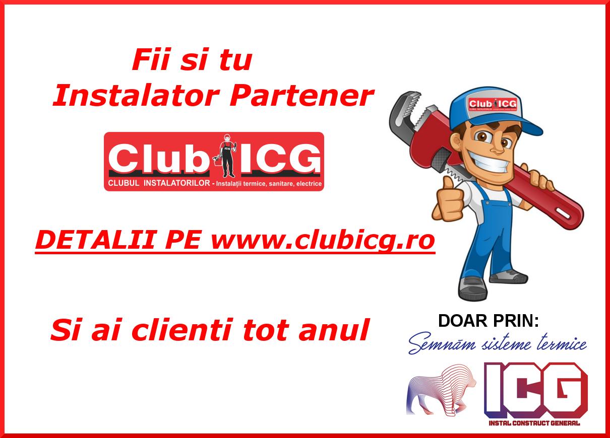 club icg - instalator partener
